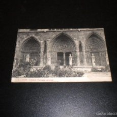 Postales: LEON / 3 / THOMAS BARCELONA / 2825 / CATEDRAL, FACHADA PRINCIPAL . Lote 55468214