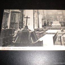Postales: LEON / 4 / THOMAS BARCELONA / 2862 / CATEDRAL ALTAR MAYOR. Lote 55470898