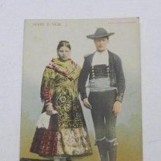 Postales: POSTAL DE ALDEANOS DE ZAMORA, SERIE B. NUM. 3, EDITA FOT. LAURENT. NO CIRCULDA, SIN DIVIDIR.. Lote 55628289