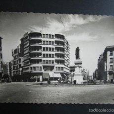 Postales: POSTAL LEÓN. PLAZA DE GUZMAN EL BUENO Y AVENIDA DE ORDOÑO II. Lote 56468130