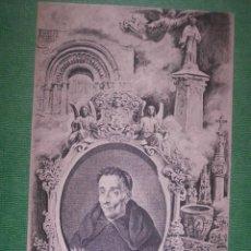 Postales: POSTAL - ESPAÑA - VILLADIEGO - PROYECTO CONSTRUCCIÓN MONUMENTO PADRE FLOREZ - NUEVA - 1904 -. Lote 56469656