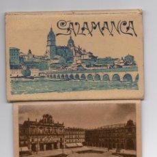 Postales: ESTUPENDA CARPETILLA CON 10 POSTALES DISTINTOS LUGARES SALAMANCA. HELIOTIPIA ARTÍSTICA AÑOS 40. Lote 56536019