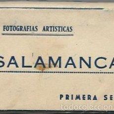 Postales: BLOC DE 12 POSTALES FOTOGRAFICAS DE SALAMANCA. Lote 56537012