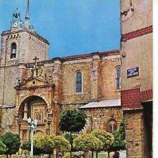 Postales: BURGOS ROA DE DUERO PLAZA MAYOR ED. POSTAL INTER. CIRCULADA. Lote 56552432