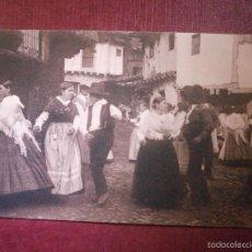 Postales: POSTAL - ESPAÑA - ÁVILA - SIERRA DE GREDOS - BAILE EN GUISANDO - FOT. WUNDERLICH - NUEVA -. Lote 56659057