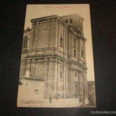 Postales: MEDINA DE RIOSECO VALLADOLID IGLESIA DE SANTIAGO. Lote 113000064