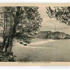 Postales: PALENCIA BARRIO DE SAN SEBASTIAN L. ROISIN, FOT. SIN CIRCULAR. Lote 56745582