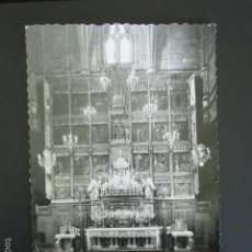 Cartoline: POSTAL LEÓN. SAN ISIDORO. ALTAR MAYOR. . Lote 56916171