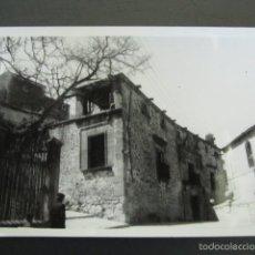 Postales: FOTOGRAFÍA ANTIGUA SEPÚLVEDA. VISTA PARCIAL. 10,4 X 7 CM. Lote 56933091