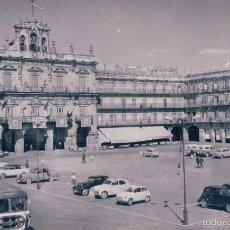 Postales: POSTAL 9- SALAMANCA.PLAZA MAYOR; CIRCULADA.FOTOGRAFICA.. Lote 56976569