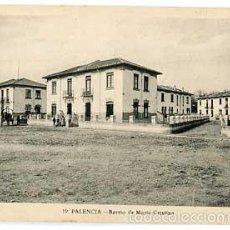 Postales: PALENCIA BARRIO DE MARIA CRISTINA L. ROISIN, FOT. SIN CIRCULAR. Lote 57099682