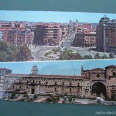 Postales: POSTAL DE LEON - 27 - PLAZA DE GUZMAN EL BUENO Y SAN MARCOS (GARABELLA, AÑOS 70 APROX). Lote 57135782