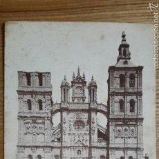 Postales: ASTORGA. FACHADA PRINCIPAL DE LA CATEDRAL. 1948. Lote 57284853