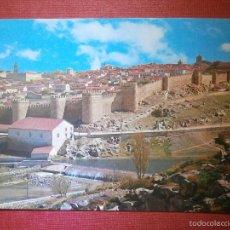 Postales: POSTAL - EUROPA - ESPAÑA - AVILA - AVILA - 12 VISTA PARCIAL CIUDAD AMURALLADA - GF - NUEVA. Lote 57443811