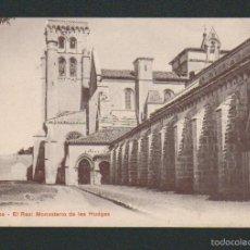 Postales: BURGOS. EL REAL MONASTERIO DE LAS HUDGAS.ED.P.Z.10118.SIN CIRCULAR.. Lote 57475759