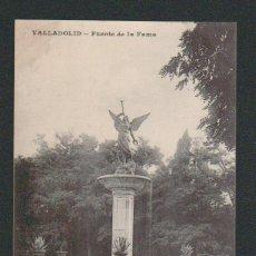 Postales: VALLADOLID.FUENTE DE LA FAMA.ED.J.H.SIN CIRCULAR.. Lote 57495341