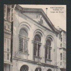 Postales: VALLADOLID.TEATRO DE LOPE DE VEGA.ED.J.H.SIN CIRCULAR.. Lote 57495573
