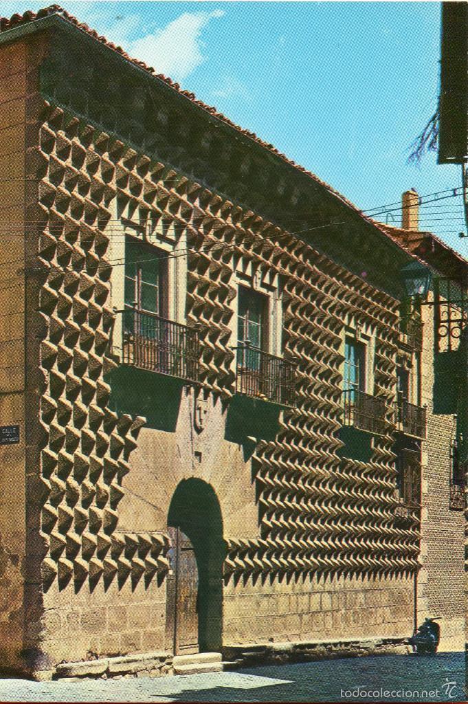 VESIV POSTAL SEGOVIA Nº86 CASA DE PICOS (Postales - España - Castilla y León Moderna (desde 1940))