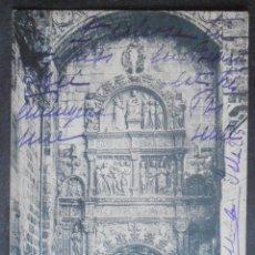 Cartoline: (47846)POSTAL ESCRITA,PORTADA DE LA PELLEJERÍA EN LA CATEDRAL,BURGOS,BURGOS,CASTILLA Y LEON,DORSO SI. Lote 57680805