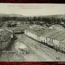 Postales: POSTAL DE AGUILAR DE CAMPOO. PALENCIA. COLEC. ACADEMIA CABALLERIA (MARCHAS DE 1909). ED. PHG VALLADO. Lote 57883800