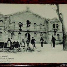 Postales: POSTAL DE BURGO DE OSMA - AUDIENCIA Y CARCEL - EMILIO MARCO, BURGO DE OSMA, SIN CIRCULAR Y DORSO SIN. Lote 57884437
