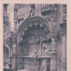 Postales: POSTAL BURGOS.- SEPULCRO DE PADILLA.COLECC.D'ASLOC. SIN DIVIDIR. Lote 57950125