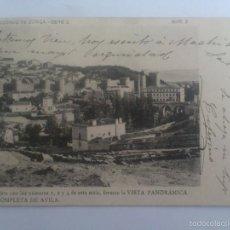 Postales: POSTAL AVILA - VISTA PANORAMICA, Nº 3, CLICHE REDONDO DE ZUÑIGA SERIE 2, CIRCULADA AÑO 1903. Lote 57952607