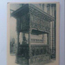 Postales: POSTAL AVILA - SEPULCRO DE SAN VICENTE, HAUSER Y MENET 790, SIN DIVIDIR. Lote 57952680