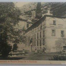 Postales: POSTAL SEGOVIA - SANTUARIO DE NUESTRA SEÑORA DE LA FUENCISLA, CIRCULAD AÑO 1913. Lote 57953963