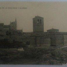 Postales: POSTAL SEVILLA - IGLESIA DE LA VERACRUZ Y ALCAZAR, CIRCULADA AÑO 1917, HAUSER Y MENET. Lote 57954218