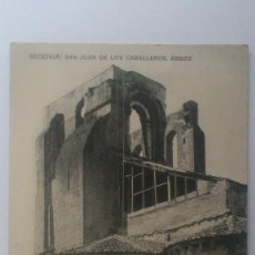 Postales: POSTAL SEGOVIA - SAN JUAN DE LOS CABALLEROS, ABSIDE, HAUSER Y MENET, SIN CIRCULAR. Lote 57955176