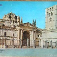 Postales: ZAMORA - CATEDRAL Y CASTILLO. Lote 57972492