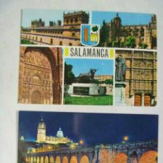 Postales: LOTE DE 2 POSTALES DE SALAMANCA . Lote 58010432