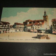 Postales: SEGOVIA PLAZA MAYOR IGLESIA DE SAN MIGUEL ED. LL Nº 11. Lote 58091662