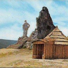 Cartoline: POSTAL * AMEYUGO , MONUMENTO AL PASTOR , VISTA PARCIAL * . Lote 58246661