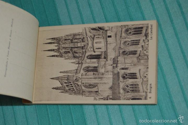 Postales: Libro con 40 Tarjetas POSTALES - Catedral de Burgos - Huecograbado - Hauser y Menet. -Madrid - Foto 4 - 58362174