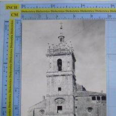 Postales: POSTAL DE PALENCIA. AÑOS 30 50. TAMARA DE CAMPOS, IGLESIA DE SAN HIPÓLITO, ALTAR. 1305. Lote 58401178