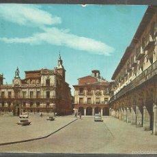 Postales: 25 - LEÓN - PLAZA MAYOR. CONSISTORIO ANTIGUO - S. CASANOVAS - EDITADA, 1964 - ESCRITA -. Lote 58437128