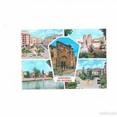 Postales: POSTAL ANTIGUA BURGOS CIRCULADA ARANDA DE DUERO DIVERSOS ASPECTOS. Lote 58703384