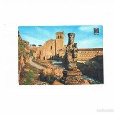 Postales: POSTAL ANTIGUA SEGOVIA SIN CIRCULAR SANTA MARIA DEL PARRAL Y MONASTERIO. Lote 58703661