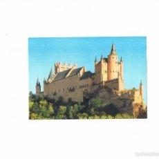 Postales: POSTAL ANTIGUA SEGOVIA SIN CIRCULAR EL ALCAZAR. Lote 58703895