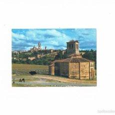 Postales: POSTAL ANTIGUA SEGOVIA SIN CIRCULAR IGLESIA DE LOS TEMPLARIOS Y VISTA PARCIAL DE LA CIUDAD. Lote 58703992