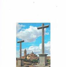 Postales: POSTAL ANTIGUA SEGOVIA SIN CIRCULAR VISTA PARCIAL DESDE EL CALVARIO DE LA PIEDAD. Lote 58704257