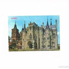 Postales: POSTAL ANTIGUA LEON SIN CIRCULAR ASTORGA PALACIO DE GAUDI MUSEO DE LOS CAMINOS. Lote 58704575