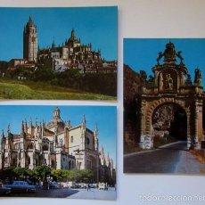 Postales: 3 POSTALES DE SEGOVIA. Lote 59119890