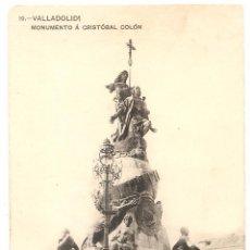 Postales: VALLADOLID. MONUMENTO A COLÓN. Lote 59828908