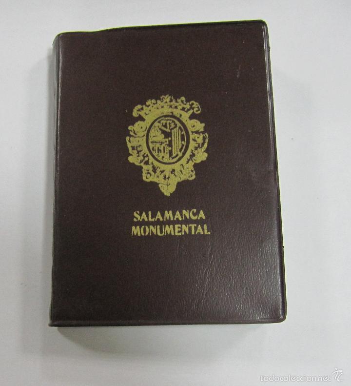 BLOCK DE 20 POSTALES. SALAMANCA MONUMENTAL. A COLOR. VARIAS VISTAS (Postales - España - Castilla y León Moderna (desde 1940))