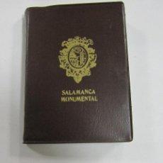 Postales: BLOCK DE 20 POSTALES. SALAMANCA MONUMENTAL. A COLOR. VARIAS VISTAS. Lote 59962295