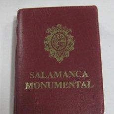 Postales: BLOCK DE 20 POSTALES. SALAMANCA MONUMENTAL. A COLOR. VARIAS VISTAS. Lote 59966939