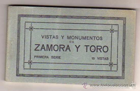 VISTAS Y MONUMENTOS DE ZAMORA Y TORO. PRIMERA SERIE 15 VISTA. GARCIA VILAPLANA. (Postales - España - Castilla y León Antigua (hasta 1939))
